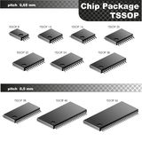 Chip Package (TSSOP) Royalty Free Stock Images