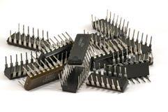 Chip per i dispositivi a semiconduttore Immagine Stock Libera da Diritti