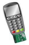 Chip And Pin Machine With Card Royalty Free Stock Image