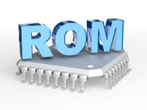 Chip ROMs (Festwertspeicher) stock abbildung