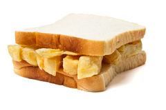 Chip Sandwich Royalty Free Stock Images