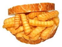 Chip Sandwich Royalty Free Stock Image