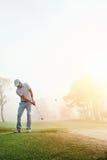 Chip shot golf royalty free stock photo