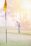 Chip shot golf Stock Photo