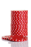 Chip Stack Royalty Free Stock Images