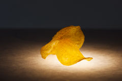 Chip su luce qui sotto Immagine Stock Libera da Diritti