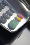 Chip und Pin-Maschine Stockfotos