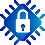 Chip-Verriegelung Lizenzfreies Stockfoto