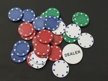 chip w pokera Obraz Royalty Free