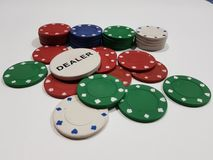 chip w pokera Fotografia Stock