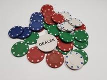 chip w pokera Zdjęcie Royalty Free