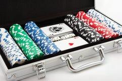chip w pokera. Obraz Stock