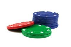 chip w pokera. Zdjęcia Royalty Free