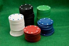 chip w pokera. Zdjęcie Royalty Free