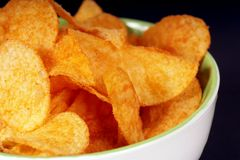 chip ziemniaka Zdjęcie Stock