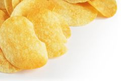 chip ziemniaka Zdjęcie Royalty Free