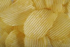 chip ziemniaka odosobnione white obrazy stock