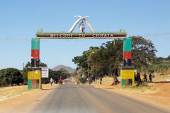 Chipata gate Stock Image