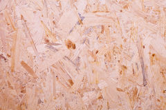 Chipboard. Texture of hardboard,  chipboard background Royalty Free Stock Photo