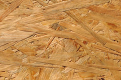Chipboard. Closeup of chipboard texture, construction material Royalty Free Stock Photography