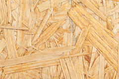 Chipboard. Close up pressed wooden panel background. Royalty Free Stock Photos