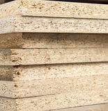 Chipboard folded in a pile Stock Photography