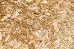 Chipboard texture close-up Stock Image