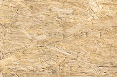 Chipboard wood background and alternative construction material Royalty Free Stock Image