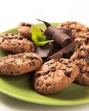 chipchokladkakor Royaltyfri Foto