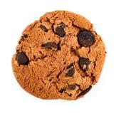 chipchokladkakor isolerade white Arkivfoto