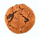 chipchokladkakor isolerade white Fotografering för Bildbyråer