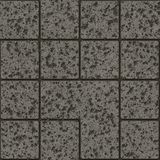 Chiped pavement render Royalty Free Stock Photo