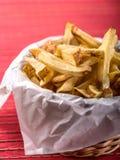 chiper fork stekt Arkivfoto