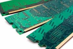 chiper isolerade minne Arkivbilder