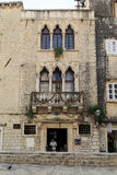 Chipiko Palace, Trogir, Croatia stock photography