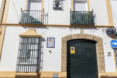 Chipiona, Andalucia, Spanje stock afbeelding