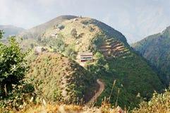 Chipling结算在尼泊尔 免版税库存图片