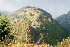 Chipling settlement in Nepal Royalty Free Stock Images