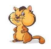 Chipmunk charakter Fotografia Royalty Free