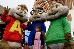 The Chipmunks characters Stock Images