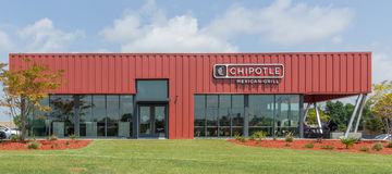 Chipolte Mexican Grill Royalty Free Stock Image