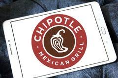 Chipotle墨西哥格栅快餐商标 图库摄影