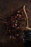 Chipotle - jalapeno smoked chili Stock Images