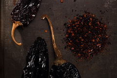Chipotle - jalapeno smoked chili Stock Images