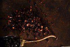Chipotle - jalapeno smoked chili Stock Photos
