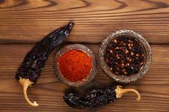 Chipotle - jalapeno uwędzony chili obraz stock