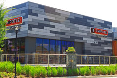 Chipotle Mexicaanse Grill stock afbeelding
