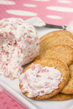 Chipped Beef Cheese Spread Stock Image