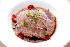 Chipped meat Stock Images
