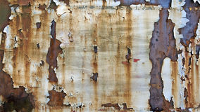 Chipped paint background. Chipped paint over rusty metal Royalty Free Stock Images